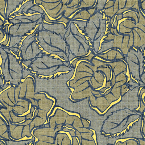 50s_Floral - Philadelphia Ladies of Liberty fabric by glimmericks on Spoonflower - custom fabric