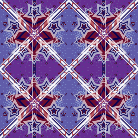 S&S(purple) fabric by kymatica on Spoonflower - custom fabric