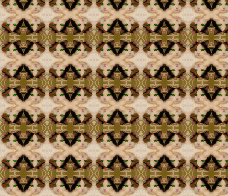 Sienna Girl fabric by materialgirlcreations on Spoonflower - custom fabric
