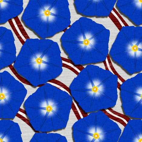 American Glories fabric by glimmericks on Spoonflower - custom fabric