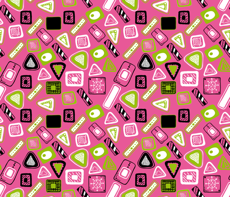 v2 fabric by jlwillustration on Spoonflower - custom fabric