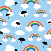 Rainbows & Umbrellas