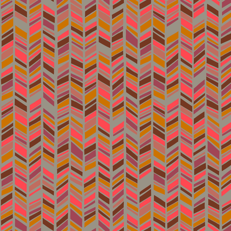 Neon Chevron fabric by kimsa on Spoonflower - custom fabric