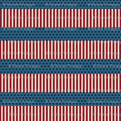 America stars and stripes