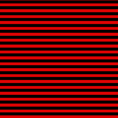 Doll Stripe Red/Black fabric by thetatterpunk on Spoonflower - custom fabric
