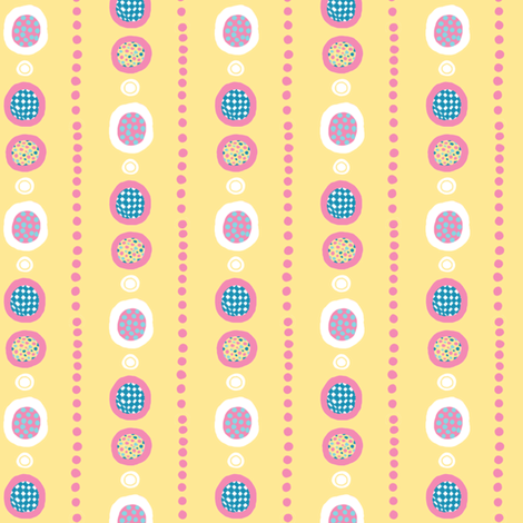 Harlequin Darlings: Dot Lines fabric by tallulahdahling on Spoonflower - custom fabric