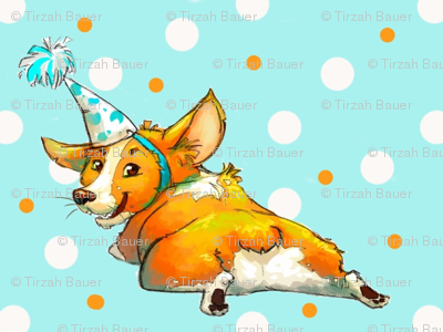 Pembroke welsh Corgi Birthday!