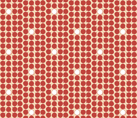 Little Poms fabric by murex_textile_designs on Spoonflower - custom fabric