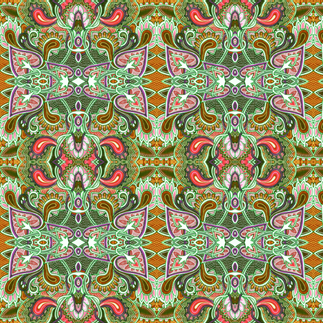 Can Paisley Come Out to Play? fabric by edsel2084 on Spoonflower - custom fabric
