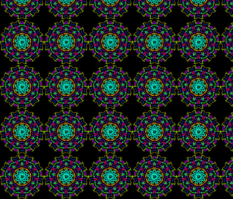 Kaleidoscope_1 fabric by mammajamma on Spoonflower - custom fabric