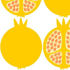 Yellow Pomegranates