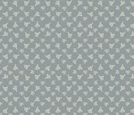 elegant romantic pattern fabric by anastasiia-ku on Spoonflower - custom fabric
