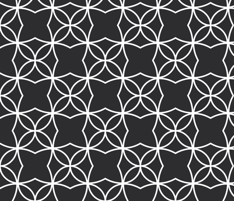 Otava (Black) fabric by pattern_bakery on Spoonflower - custom fabric