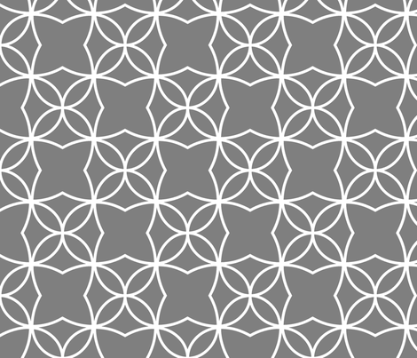 Otava (Grey) fabric by pattern_bakery on Spoonflower - custom fabric