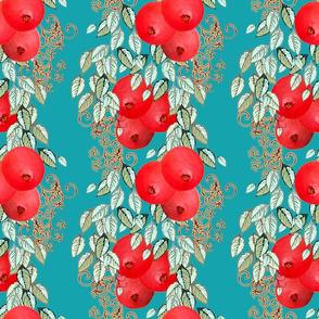 Pomegranate Stripe larger