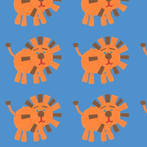 Retro Lions blue