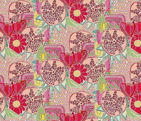 arilicious fabric by scrummy on Spoonflower - custom fabric