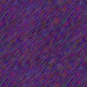 Plum Diagonal Tweed Texture Element