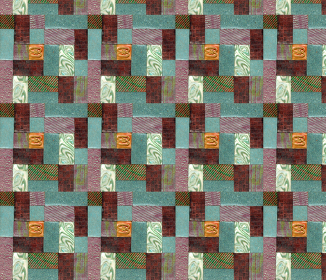 polymer clay  tile,  fabric by koalalady on Spoonflower - custom fabric