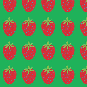 strawberry green