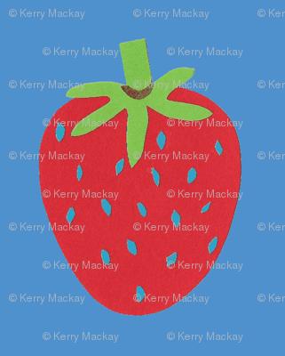 strawberry blue