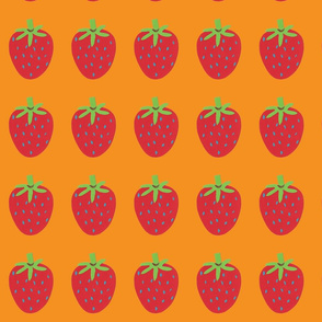 strawberry orange
