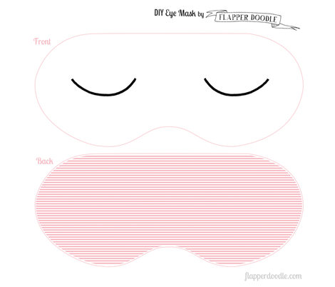 DIY eye mask fabric by kategabrielle on Spoonflower - custom fabric