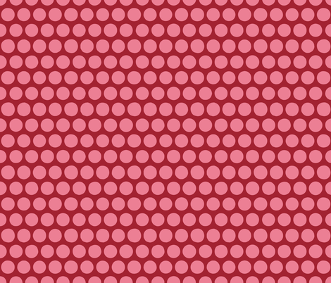 aril pom spot pink fabric by scrummy on Spoonflower - custom fabric