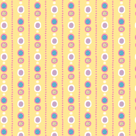 Harlequin Darlings: DotLines_small fabric by tallulahdahling on Spoonflower - custom fabric