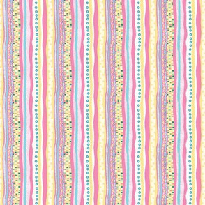 Harlequin Darlings: Vertical Stripes_small
