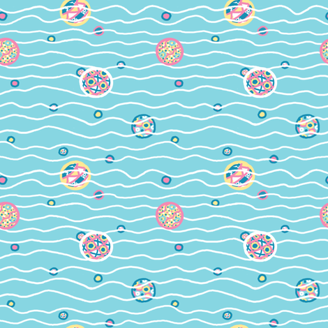HarlequinDarlings: Beachballs fabric by tallulahdahling on Spoonflower - custom fabric