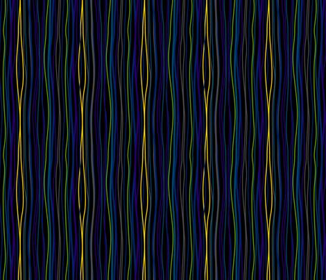 Wavy Stripes Black.