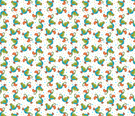 Dodo Bird fabric by holladaydesigns on Spoonflower - custom fabric