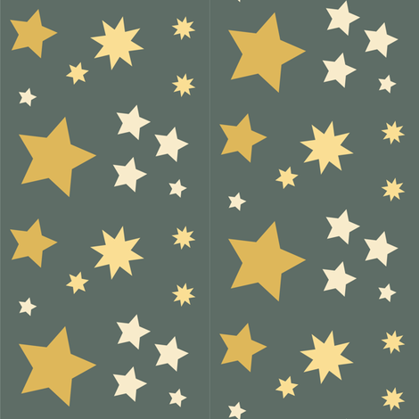 Stars fabric by icypop on Spoonflower - custom fabric