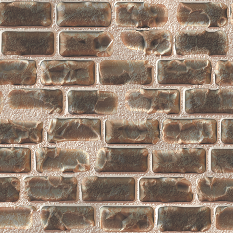 Damaged Bricks fabric by animotaxis on Spoonflower - custom fabric
