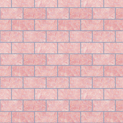 Pink Granite Blocks fabric by animotaxis on Spoonflower - custom fabric