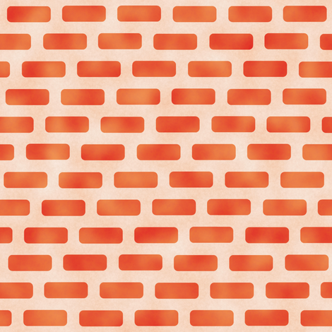 Red Brick Wall fabric by animotaxis on Spoonflower - custom fabric