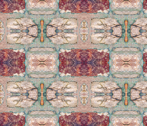 Stone Pile Masonry 3 fabric by animotaxis on Spoonflower - custom fabric