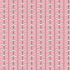 Clothes Hanger Chevron - pink
