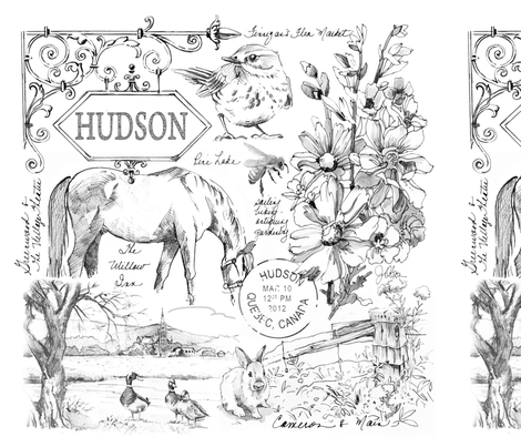 Hudson Pillow Panels fabric by joanna_oh! on Spoonflower - custom fabric