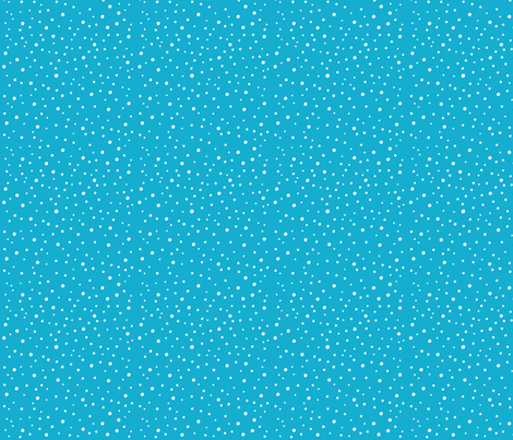 Dodo Bird Polka Dots Blue