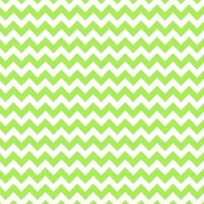 lime green mini chevron