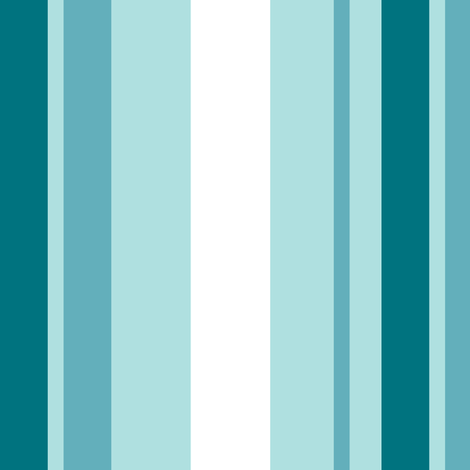 Blue Stripes fabric by fig+fence on Spoonflower - custom fabric