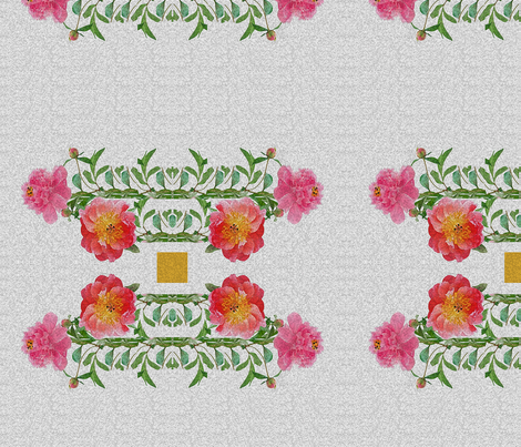 vintage50sfloral14x14 fabric by creating_marks on Spoonflower - custom fabric