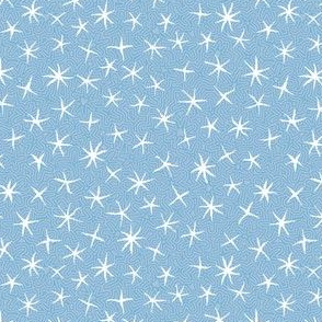 stars on stripes, pale blue