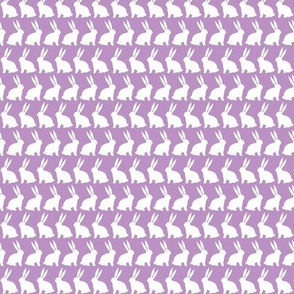 Bunnies on Parade - Purple