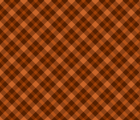 COFFEE TARTAN fabric by bluevelvet on Spoonflower - custom fabric