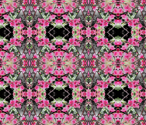 Dance of the Peach Blossoms fabric by anniedeb on Spoonflower - custom fabric