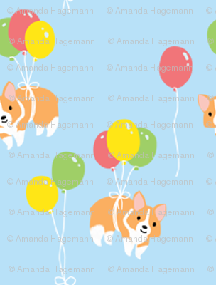 Corgi Party (Ditzy)