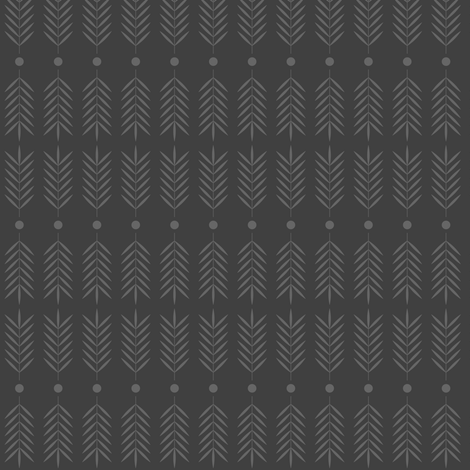 Vintage Gray fabric by ghennah on Spoonflower - custom fabric